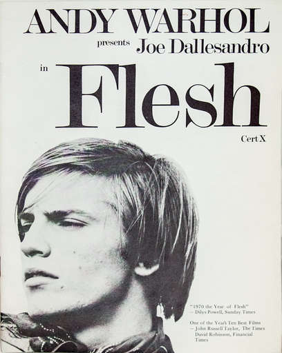 Andy Warhol Flesh film poster
