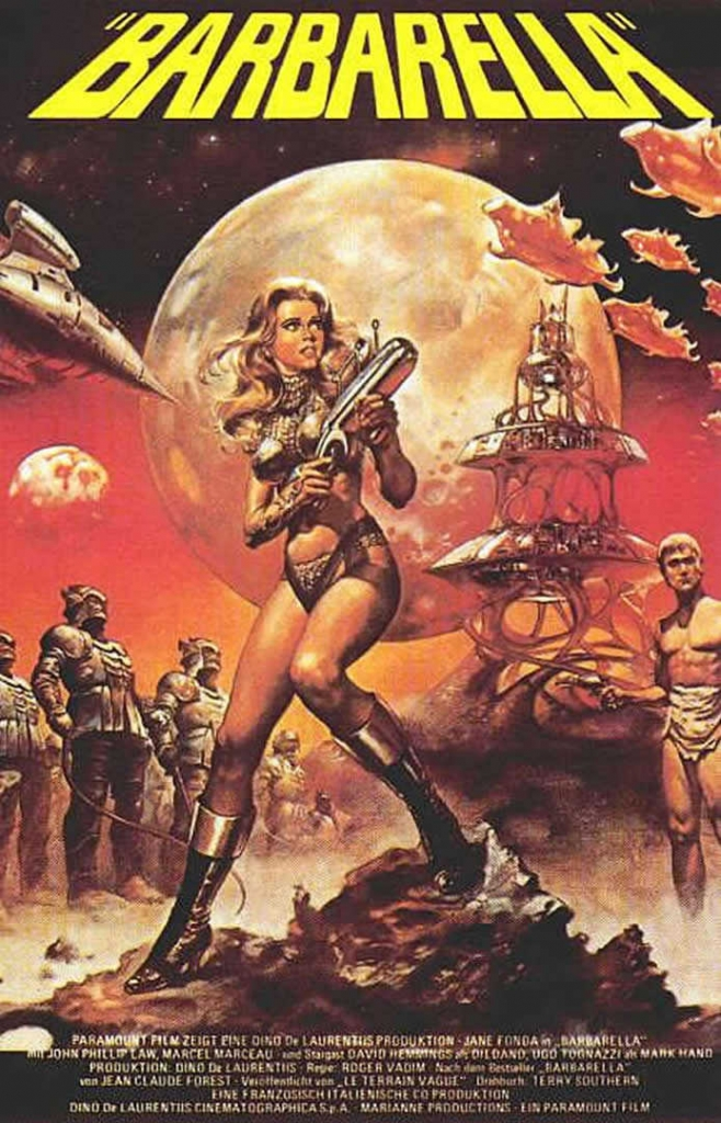 Barbarella film poster