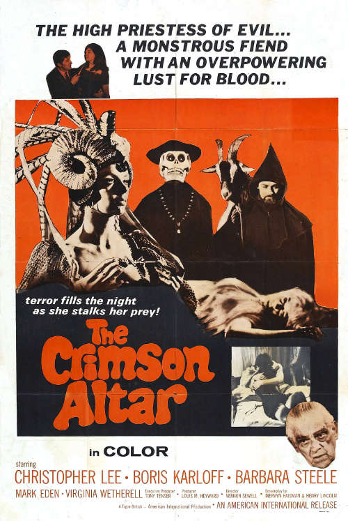 curse of the crimson altar film poster