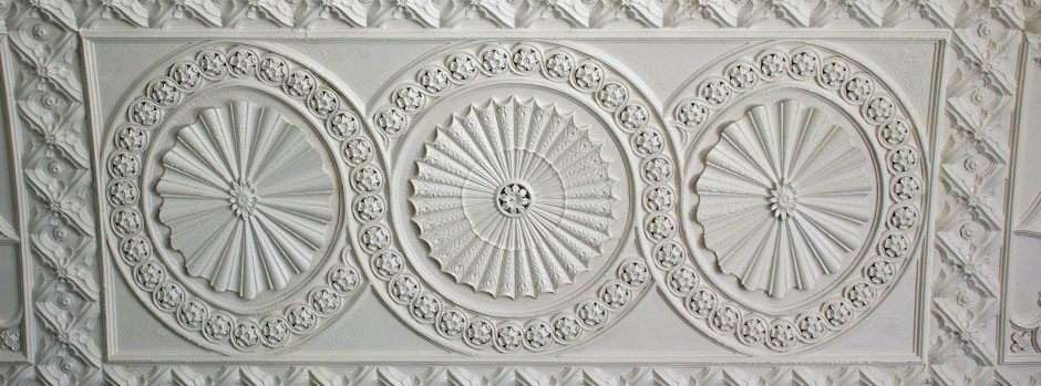 banqueting hall ceiling